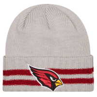 New Era NFL Away Game Cuffed Knit - Men's - Arizona Cardinals - Grey / Red
