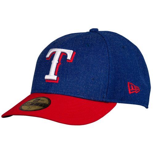 New Era MLB 59Fifty Change Up Low Profile Cap - Men's - Texas Rangers - Blue / Red