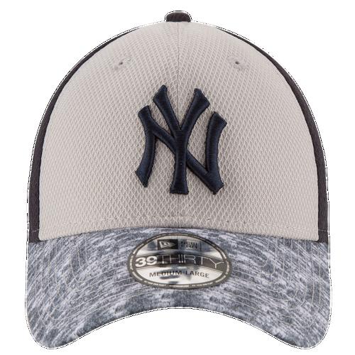 New Era MLB 39Thirty Tech Stir Cap - Men's - New York Yankees - Grey / Navy