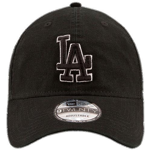 New Era MLB Core Classic Adjustable Cap - Men's - Los Angeles Dodgers - Black / White