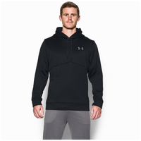 Under Armour Storm Armour Fleece Icon Hoodie - Men's - All Black / Black