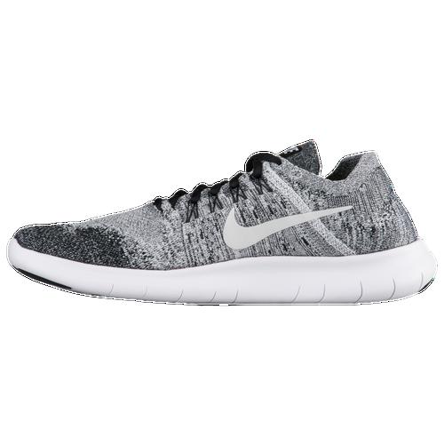 nike free rn flyknit 2017 men 39 s running shoes black white volt. Black Bedroom Furniture Sets. Home Design Ideas