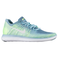 sale retailer d66de 2dd74 Nike Free RN Flyknit 2017 - Women s - Light Blue   White