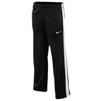Nike Performance Knit Pants - Boys' Grade School - Black / Light Green
