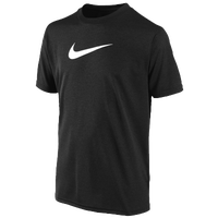 Nike Legend S/S T-Shirt - Boys' Grade School - Black / White