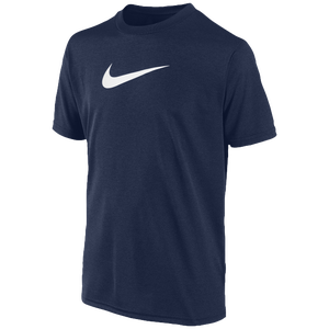 Nike Legend S/S T-Shirt - Boys' Grade School - Obsidian/White