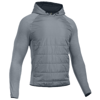 Under Armour Swacket Insulated Popover Hoodie - Men's - Grey / Grey