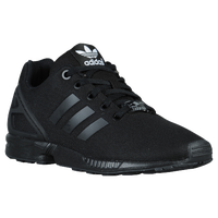 adidas Originals ZX Flux - Boys' Grade School - All Black / Black