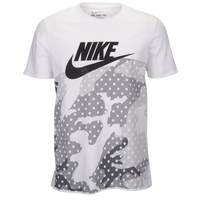 Nike Graphic T-Shirt - Men's - White / Grey