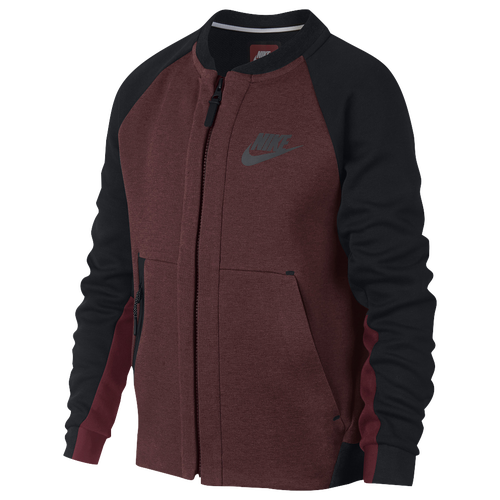 Nike Tech Fleece Bomber Jacket - Boys' Grade School - Casual ...