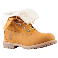 Timberland Teddy Fleece Fold Down Boots - Women's - Tan / Tan