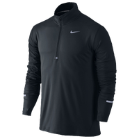 Nike Dri-FIT Element 1/2 Zip - Men's - All Black / Black