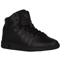 K-Swiss Classic Mid - Boys' Grade School - All Black / Black