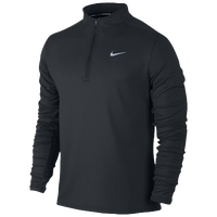 Nike Dri-FIT Thermal 1/2 Zip - Men's - All Black / Black