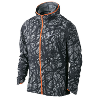 Nike Dri-FIT Enchanted Impossibly Light Jacket - Men's - Black / Orange