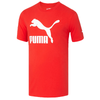 PUMA Archive Life T-Shirt - Men's - Red / White