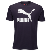 PUMA Archive Life T-Shirt - Men's - Navy / White