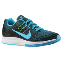 Nike Zoom Structure 18 - Men's - Light Blue / Light Green