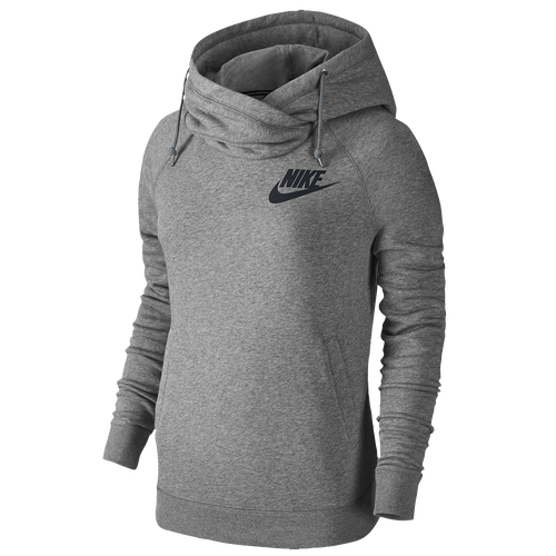 nike rally funnel neck hoodie women 39 s casual. Black Bedroom Furniture Sets. Home Design Ideas