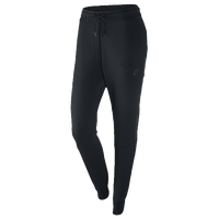 Nike Tech Fleece Pant - Women's - All Black / Black
