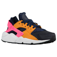 Nike Air Huarache - Women's - Navy / Black