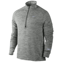 Nike Dri-FIT Element Sphere 1/2 Zip - Men's - Grey / Grey