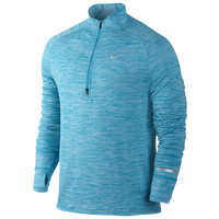Nike Dri-FIT Element Sphere 1/2 Zip - Men's - Light Blue / Light Blue