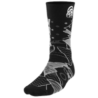 Jordan Mars Crew Socks - Men's - Black / White