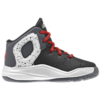 adidas D Rose 5 - Boys' Toddler -  Derrick Rose - Black / White