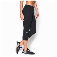 Under Armour Favorite Solid Capri - Women's - Black / Silver