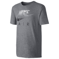 Nike Hybrid Futura T-Shirt - Men's - Grey / Black