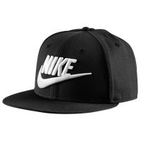 Nike Futura Snapback Cap - Men's - Black / White