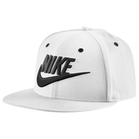 Nike Futura Snapback Cap - Men's - White / Black