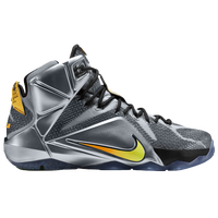 Nike LeBron 12 - Men's -  LeBron James - Grey / Black