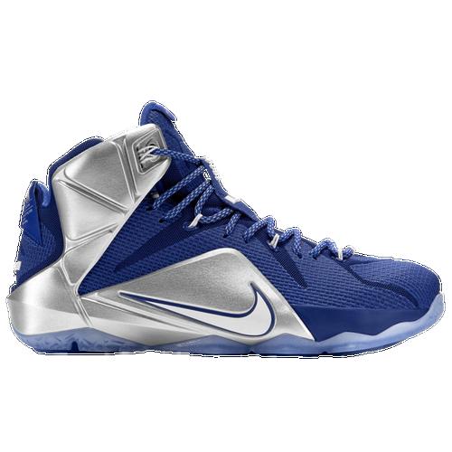 Nike Lebron 12 - Product Model:226564 Sku:84593410 Nike Lebron 12 Hommes Lebron James Bleu Argent  Cm 3dbretnike Code Promo