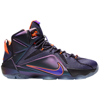 d1b469e9369a Nike LeBron 12 - Men s - LeBron James - Purple   Orange