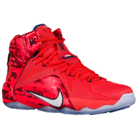 Nike LeBron 12 - Men's -  LeBron James - Red / Navy