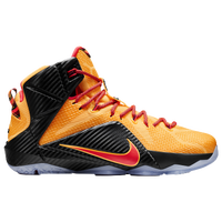 Nike LeBron 12 - Men's -  LeBron James - Orange / Black