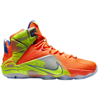 617b96f3feec Nike LeBron 12 - Men s - LeBron James - Orange   Grey