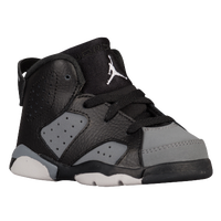 Jordan Retro 6 - Boys' Toddler - Black / White