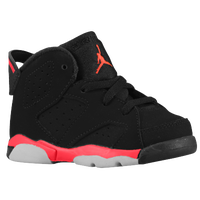 Jordan Retro 6 - Boys' Toddler - Black / Red