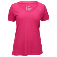 Nike Shortsleeve Legend V-Neck T-Shirt 2.0 - Women's - Pink / Pink