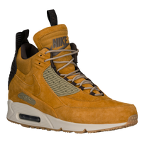 Nike Air Max 90 Sneakerboot - Men's - Gold / Brown