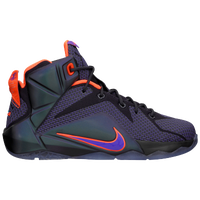 Nike LeBron 12 - Boys' Grade School -  LeBron James - Purple / Orange