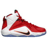 Nike LeBron 12 - Boys' Grade School -  LeBron James - Red / Orange