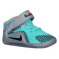 Nike Lebron 12 - Boys' Infant -  Lebron James - Light Blue / Grey