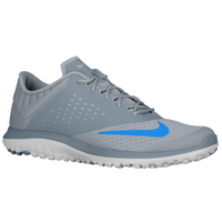 Nike FS Lite Run 2 - Men's - Grey / Light Blue