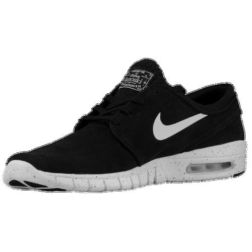 Nike SB Stefan Janoski Max - Men's - Black / White