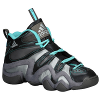 adidas Crazy 8 - Boys' Grade School - Grey / Light Blue
