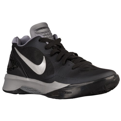 nike grey and black shoes